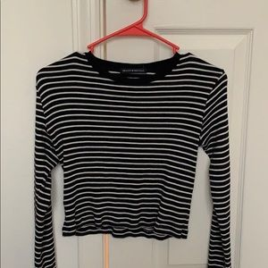 Long Sleeve Stripped Brandy Meville Shirt